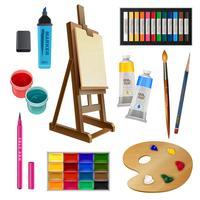 Konstnärliga isolerade dekorativa element