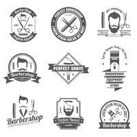 Friseurladen-Emblem