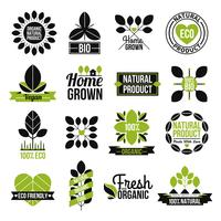 Organic Organic Product Label Set