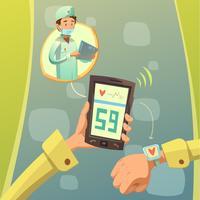 Consultation de médecin mobile