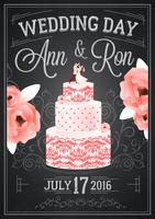 Wedding Chalkboard Poster