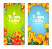 Conjunto de banner de Pascua
