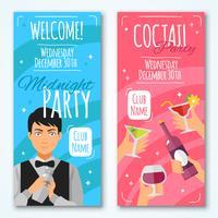 Cocktail-Einladungen Design Set