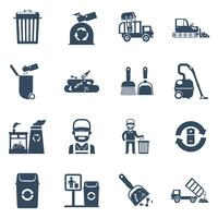 Garbage Disposal  Black Icons