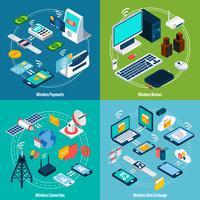 Isometrie-Set für drahtlose Technologien