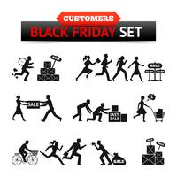 Black Friday Sale Customers Set