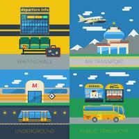 Transporte de passageiros 2x2 Design Concept