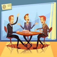 Business Meeting Illustration
