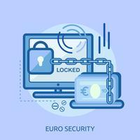 Yen Security Conceptuele afbeelding ontwerp