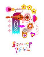 Sommarfestivalen affischdesign