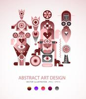 Illustrazione di vettore di Abstract Art Design