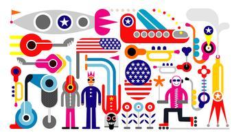4. Juli - Unabhängigkeitstag der USA