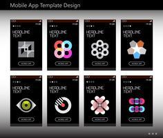 Ontwerpsjabloon voor mobiele apps