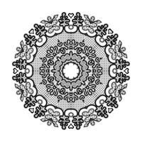 Modello di nastro di pizzo cerchio astratto. Il pizzo per la decorazione