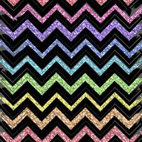 Seamless patterns with color pattern of zigzag lines