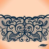 Vector seamless lace Doily. Can be used for packaging, invitations, and template.