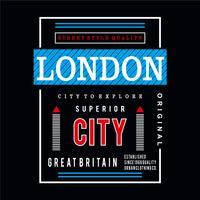 tipografia grafica di design di Londra