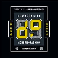 modern fashion typography design for t-shirt and othr uses