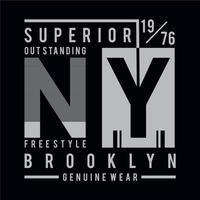 Tipografia grafica di stile t shirt stile libero