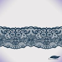 Seamless vector lace pattern.Template frame design.