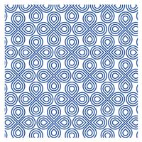 Muster Blau Design 23