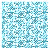Blue Pattern Design 24