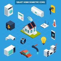 Conjunto de ícones para casa inteligente