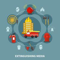 Firefighting Extinguishing Media