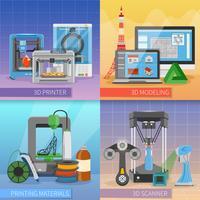 Impresión 3D del Concepto de Diseño 2x2.