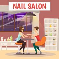 Nail Salon Background