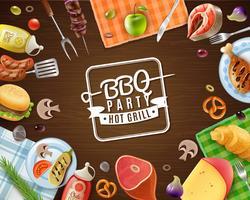 BBQ-Party-Rahmen