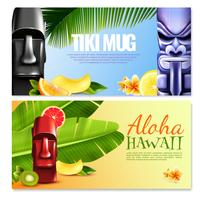 Hawaiian Party horizontale Banner