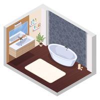 Bañera de hidromasaje interior de baño