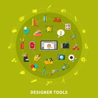 Designer Tools Colored Concept