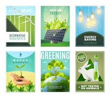 Ecology 6 Mini Banners Collection
