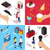 Concept de design Party Elements