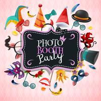 Fondo de la fiesta de Photo Booth