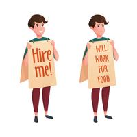 Job Street Search Decoratieve pictogrammen
