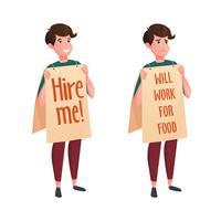 Job Street Search Decoratieve pictogrammen