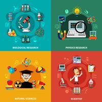 Banners de Ciencia e Investigación