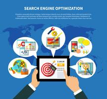SEO Services Worldwide Concept
