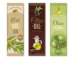 Olive Vertical Banners Set