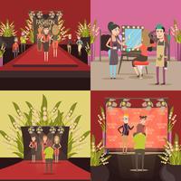 Modeshow ontwerpconcept