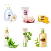 Organic Cosmetics Set