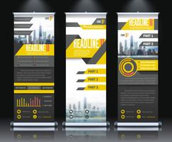 Report Rollup Banners Set