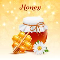 Concepto de color miel