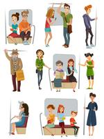 Subway People Set