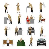 Collezione Detective Characters