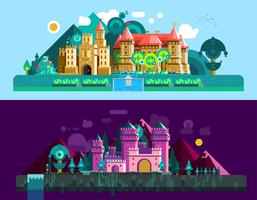 Castles Horizontal Banners