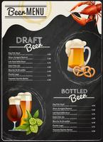 Beer Chalkboard Menu